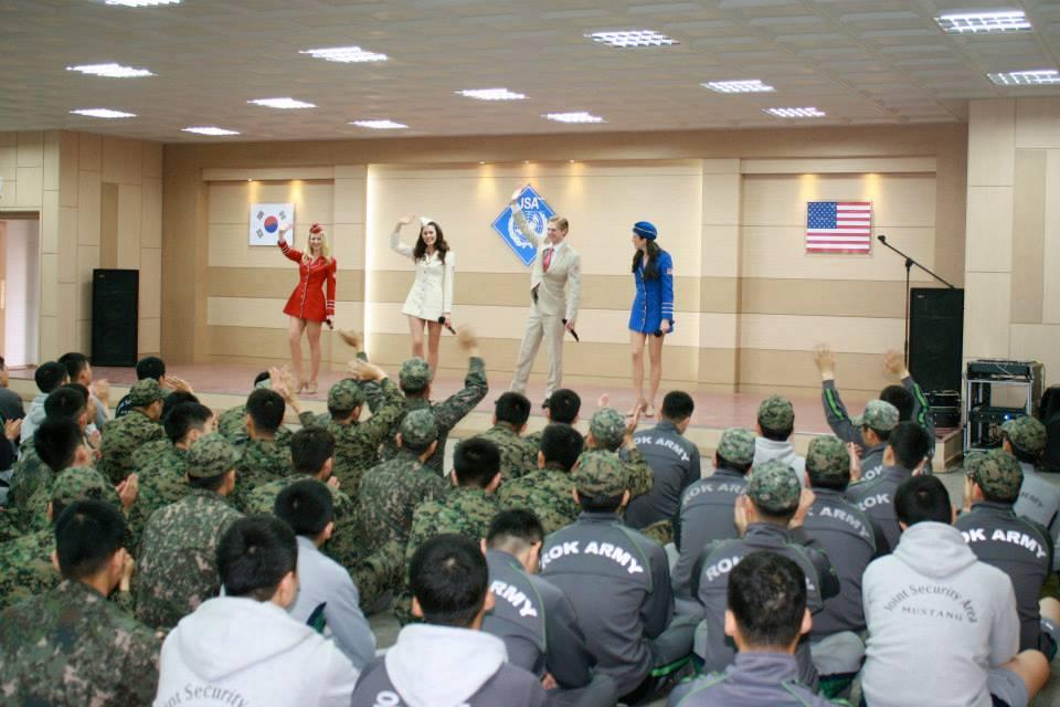 USO Show-Live in the DMZ, South/North Korea